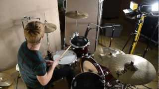 Mark Nolan Recording Drums For Full Time Cutie by Summertime Dropouts