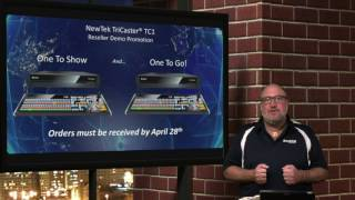 NewTek TriCaster TC1 IP Connected Production System & Promos