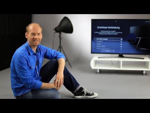Samsung TV K-Serie - Einrichtung / erster Start
