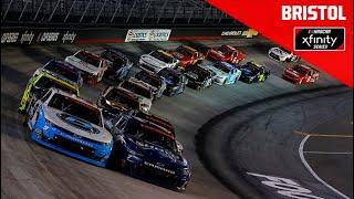 Cheddar's 300 presented by Alsco   Full NASCAR Xfinity Race Replay: Bristol Motor Speedway