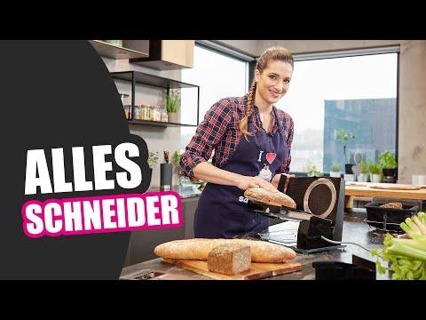 Graef Allesschneider SKS300 / S32172 in Matt-Schwarz für die SlicedKitchen