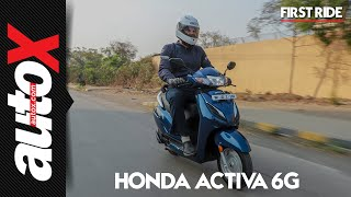 Honda Activa 6G First Ride Video Review