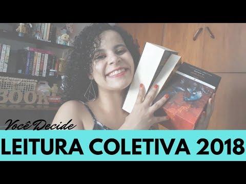 LEITURA COLETIVA 2018 - VOCÊ DECIDE! | VLOGMAS #28 | Livraneios