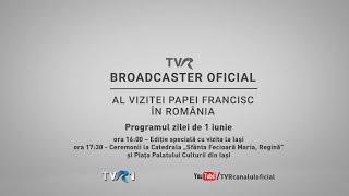 Papa Francisc în România - Vizita La Iaşi | LIVE (@TVR1)