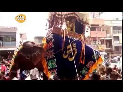 Chowdeswari Devi Elephant Yatra