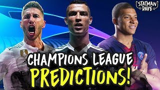 My 2018/19 Champions League Predictions | Favourites, Dark Horses, English Teams & Underachievers