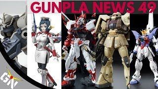 Gunpla News 49: Blue Destiny, Loheng Rinko, Astray Red Frame Kai, Zaku, Gouf