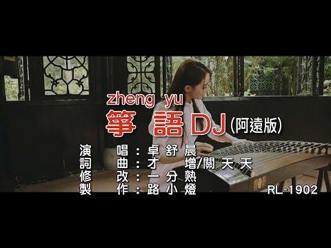 卓舒晨《箏語》(DJ修改版)(1080P) KTV
