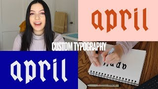 Creating Custom Typography