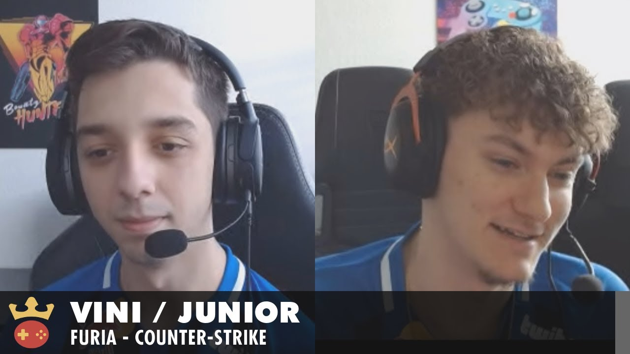 Video of Interview with VINI and junior from FURIA at IEM Katowice 2021