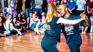 William dos Santos & Lucia Kubasova - Samba de Gafieira - Amsterdam Brazilian Dance Festival 2017