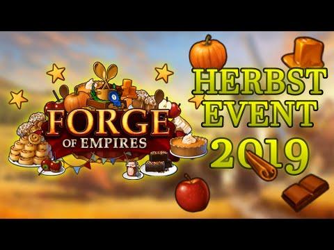 Forge of Empires -- HERBST EVENT 2019 -- Schwingt den Rührlöffel und holt den Zuckerguss!!!