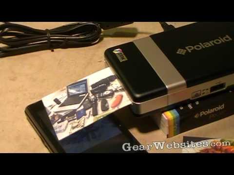 Quick Look at Polaroid PoGo Bluetooth Printer
