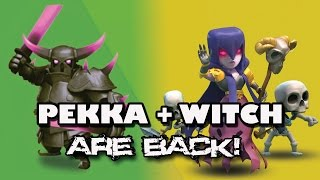 PEKKA & WITCH ARE BACK AT TH9 | New Attack Strategy with BOWLERS | Clash of Clans