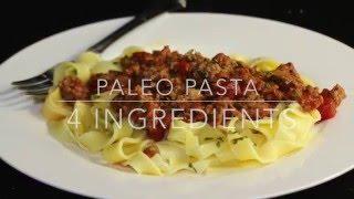 Paleo Pasta Recipe-Gluten Free