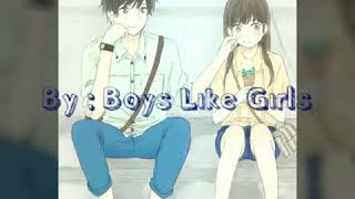 Be your Everything - Boys Like Girls (lyrics)