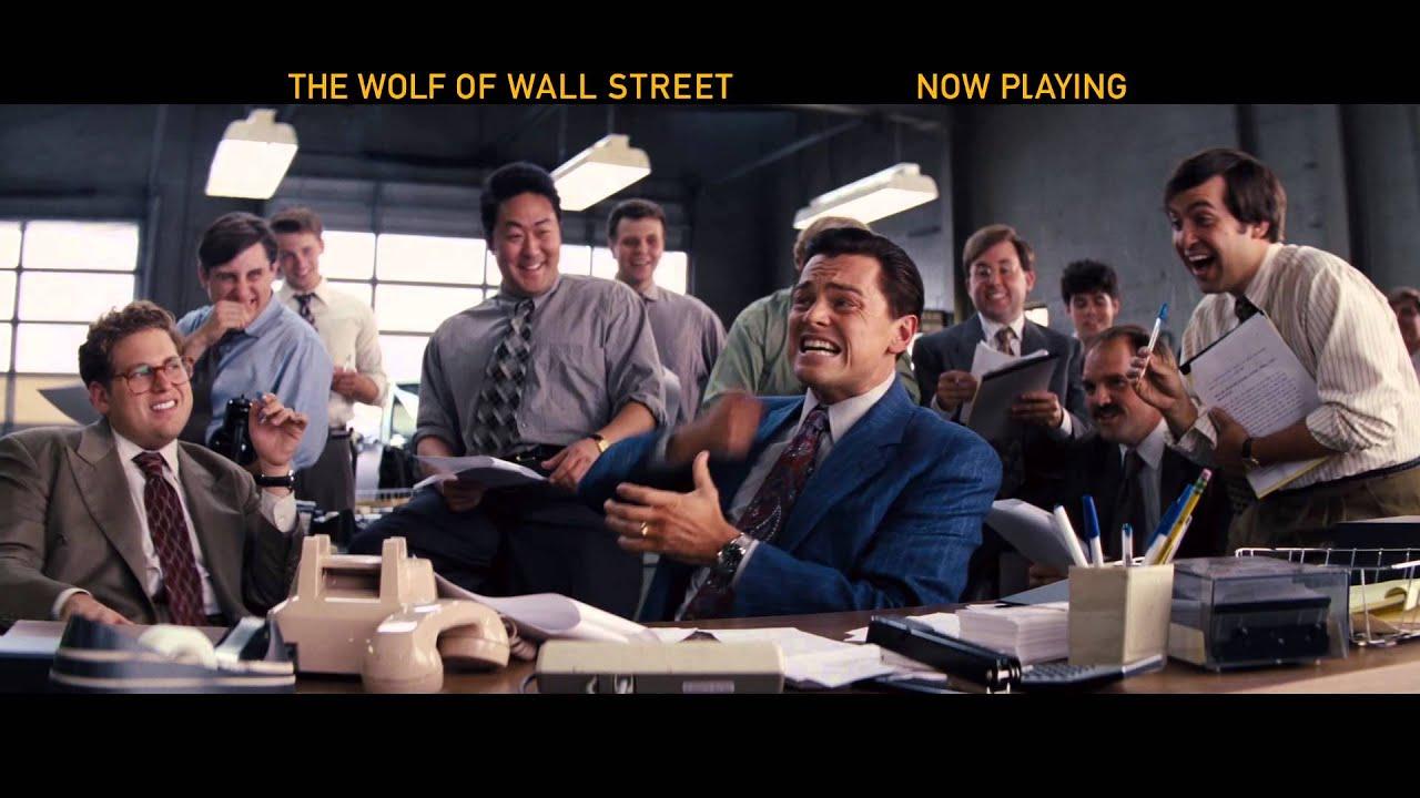 Trailer för The Wolf of Wall Street