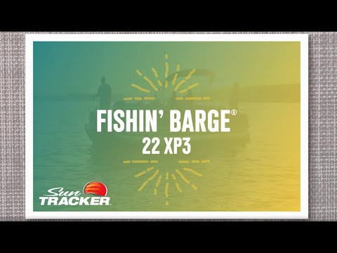 Sun Tracker Fishin' Barge 22 XP3video