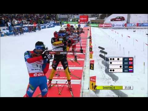 Biathlon WM Staffel der Männer in Nove Mesto 2013