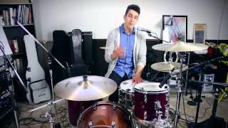 3 Easy Beginner Drum Beats | Beginner Drum Lesson - Drum Beats Online