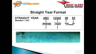 Hull Identification Number - BOAT HIN Formats Explained!
