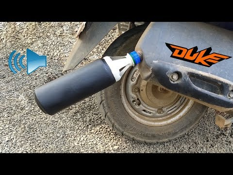 How to Make KTM Duke Exhaust Silencer Sound For Any BIKE and Scooty | Scooter