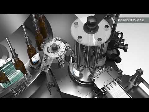 Klein aber KHS – Unsere kompakte Etikettiermaschine Innoket Roland 40