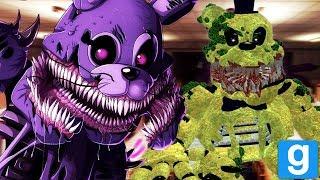 PLAY AS THE NEW TWISTED ANIMATRONICS || GMOD FNAF (Twisted Animatronics Garrys Mod)