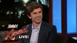 Download Youtube: Freddie Highmore on Bates Motel, The Good Doctor & Living in Spain