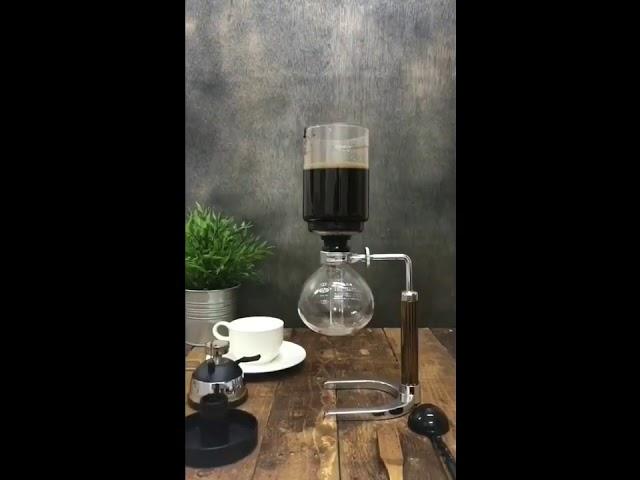 القهوه المختصه بأداة السايفون القهوه العربية