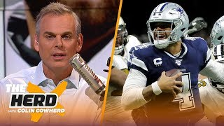 Browns showed formula to win with Baker, Colin says to manage expectations with Dak   NFL   THE HERD