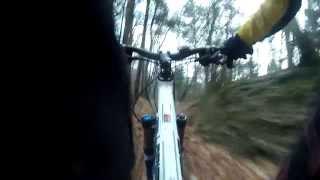 preview picture of video 'Plabutsch Downhill Neujahrsausfahrt 2014 [Uncut]'