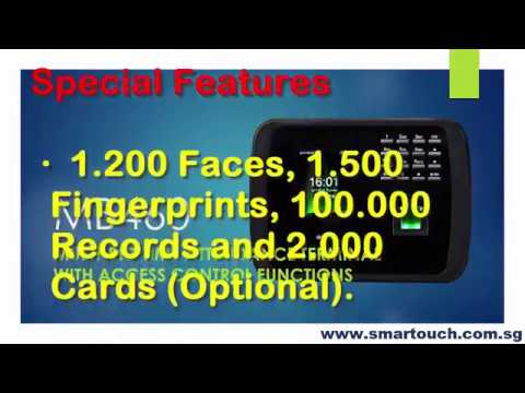 Biometric Face Recognition Machine MB460 Special Features integrated with BCA EPSS BAS System