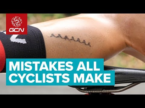 Mistakes That All Cyclists Make On Bike Rides