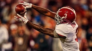 "Calvin Ridley Alabama 2017 Season Highlights ᴴᴰ || ""Best WR In The Draft"""