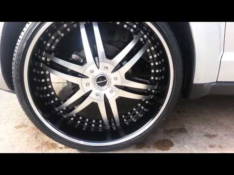 Dodge journey on 24 inch rims