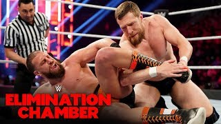 Daniel Bryan Engages In A Brutal Exchange With Drew Gulak: Elimination Chamber 2020 (WWE Network)