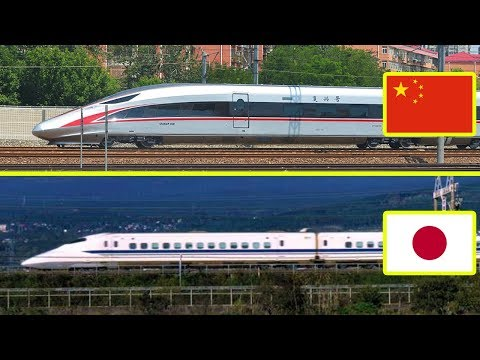 Chinese Railways vs Japanese Railways Comparison (2018)