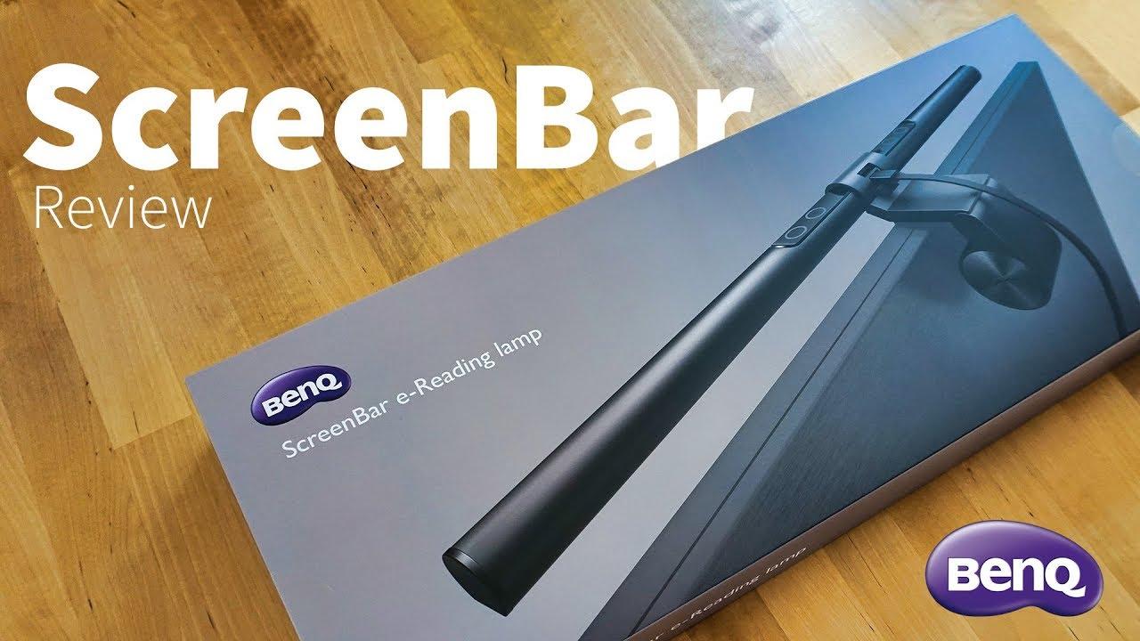 BenQ Screenbar E-Reading LED-Lampe für Schreibtisch – Review, Erfahrungsbericht, Test