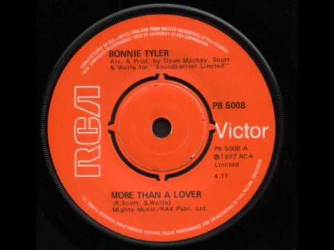 "Bonnie Tyler - More Than A Lover - vinyl 7"" single"