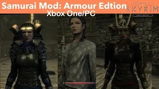 Skyrim SE Xbox One/PC Mods|Samurai Mod: Armour Edtion