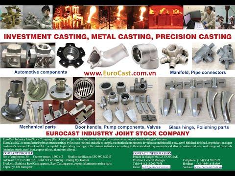 EuroCAST - Đúc Kim loại, Đúc Mẫu Chảy, Đúc Inox, Đúc Thép - Triển lãm VME2019