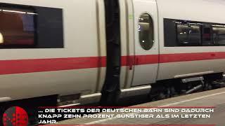 Deutsche Bahn boomt: Durch Mehrwertsteuer-Senkung fahren mehr mit der Bahn