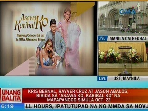 [GMA]  UB: Kris Bernal, Rayver Cruz at Jason Abalos, bibida sa 'Asawa Ko, Karibal Ko'