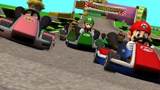 Pacman vs Mario Kart