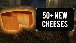This Mod Adds 50+ New Cheeses to Skyrim