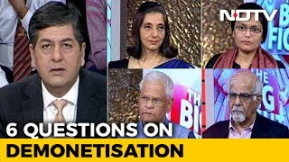 The Big Fight 6 Big Questions After Demonetisation