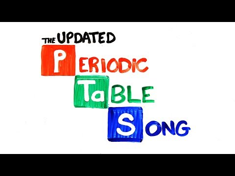 Sing Along with the Periodic Table Song