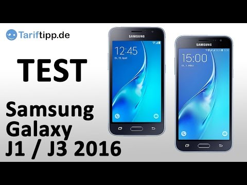 Samsung Galaxy J1 / J3 (2016) | Doppel-Test deutsch