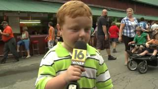 Apparently This Kid is Awesome, Steals the Show During Interview